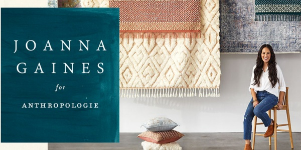 Joana Gaines introduces Anthropologie collection