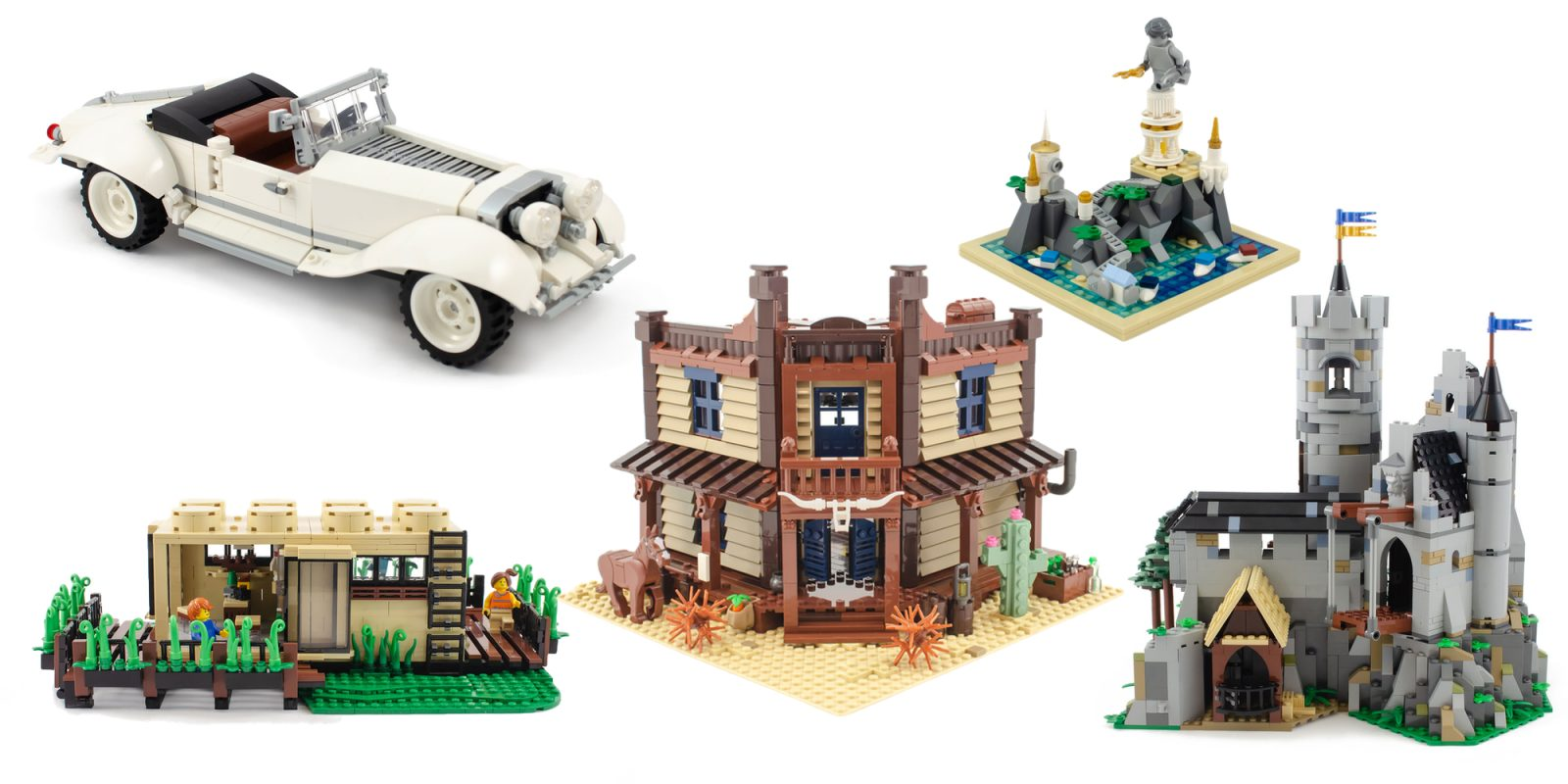Check Out Eight New Lego Afol Designer Program Sets 9to5toys
