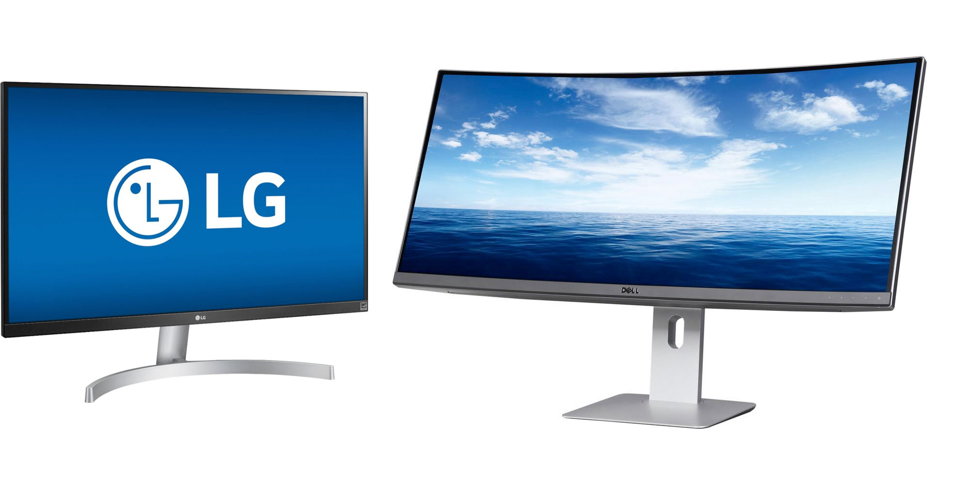 Monitors from $127.50: LG 27-inch 4K, Lenovo 24-inch 1440p, Dell 34-inch 1440p UltraWide, more