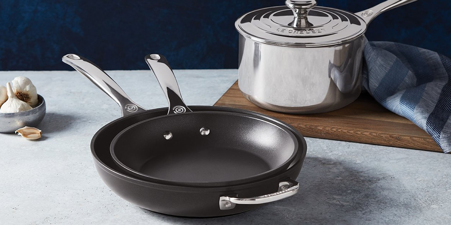 Le Creuset pans, stainless steel sets, Dutch ovens and more from $30 at Hautelook