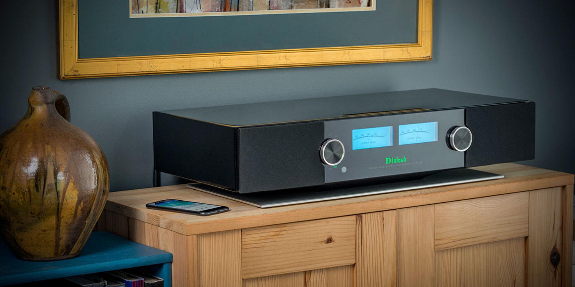 McIntosh's new Wireless Loudspeaker System wields 650W, AirPlay 2, and Alexa compatibility