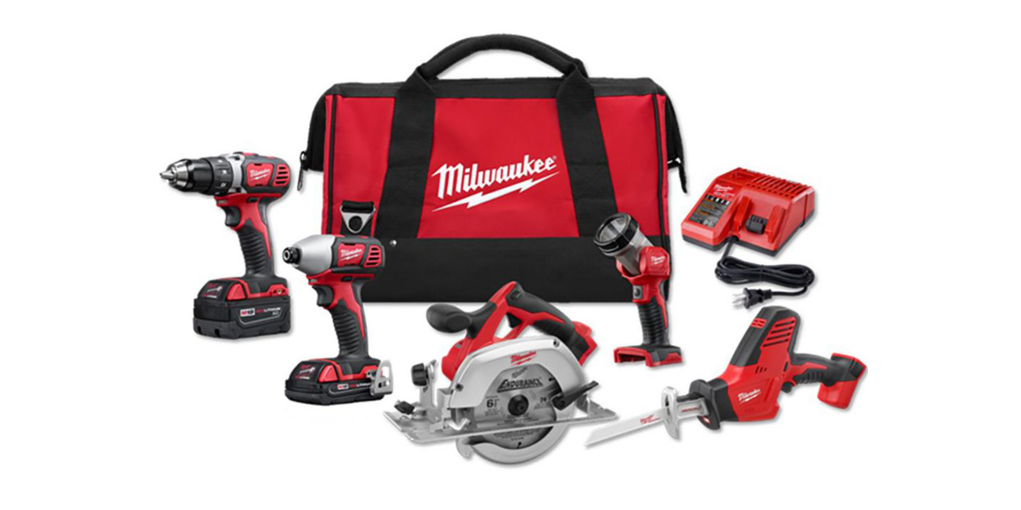 Get ready for spring projects w/ Milwaukee's M18 5-Tool Kit for $279 shipped (save $70)