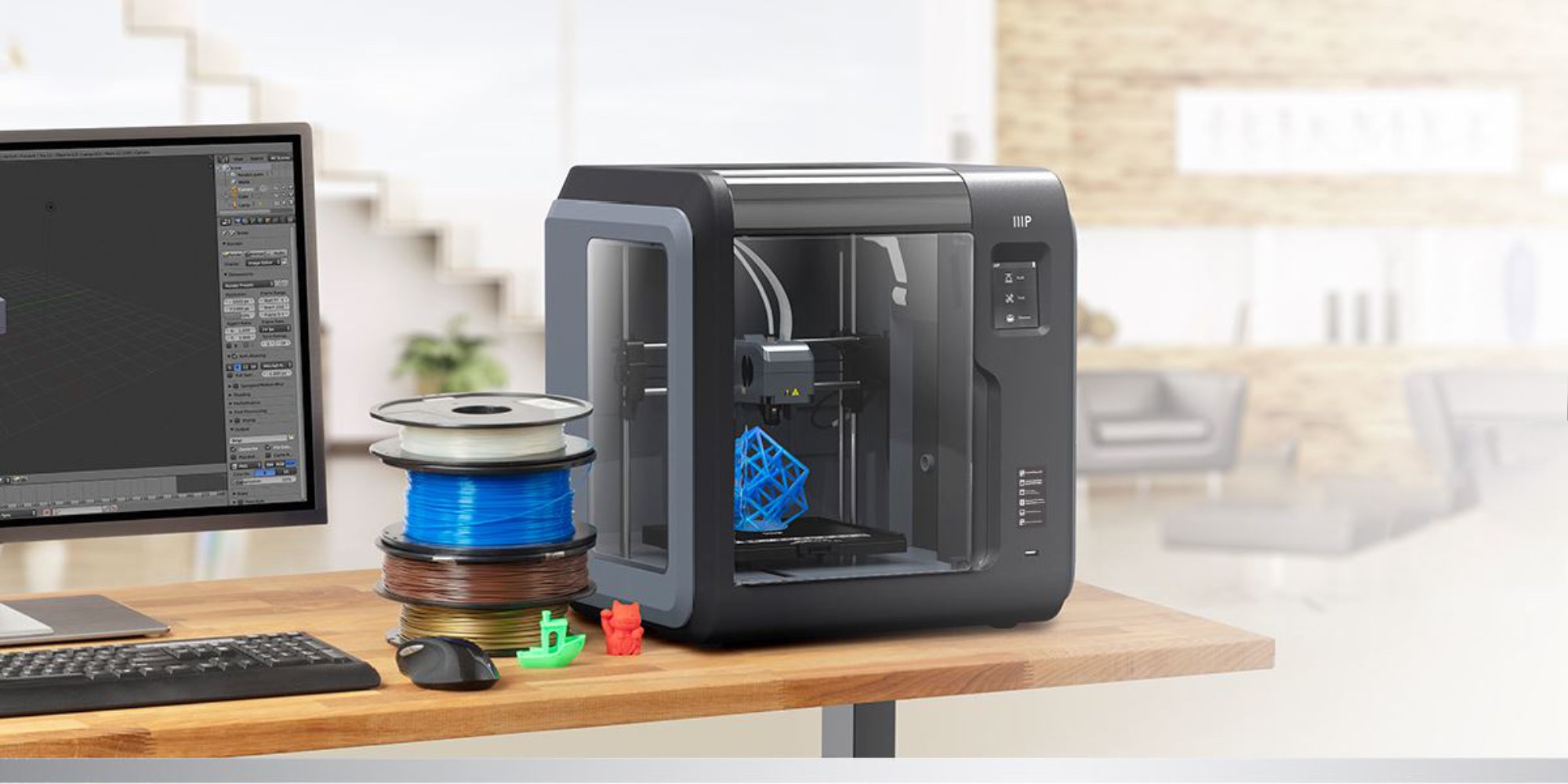 Start 3D printing w/ Monoprice's recently-released Voxel for a low of $274.50 (Reg. $400)