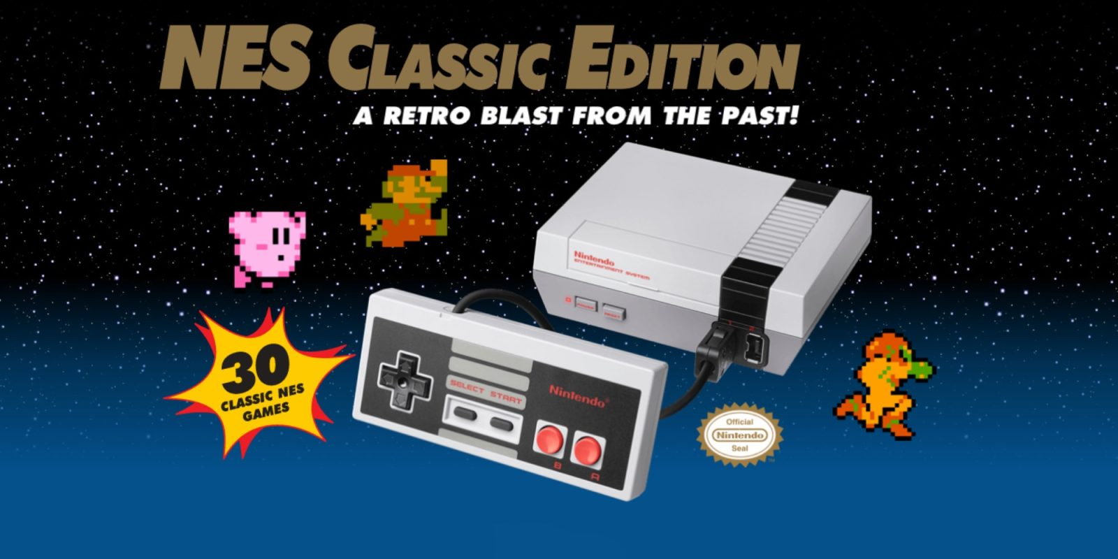 Play Zelda, Donkey Kong, Dr. Mario, and more w/ Nintendo's NES Classic: $50 (Refurb, Orig. $60)