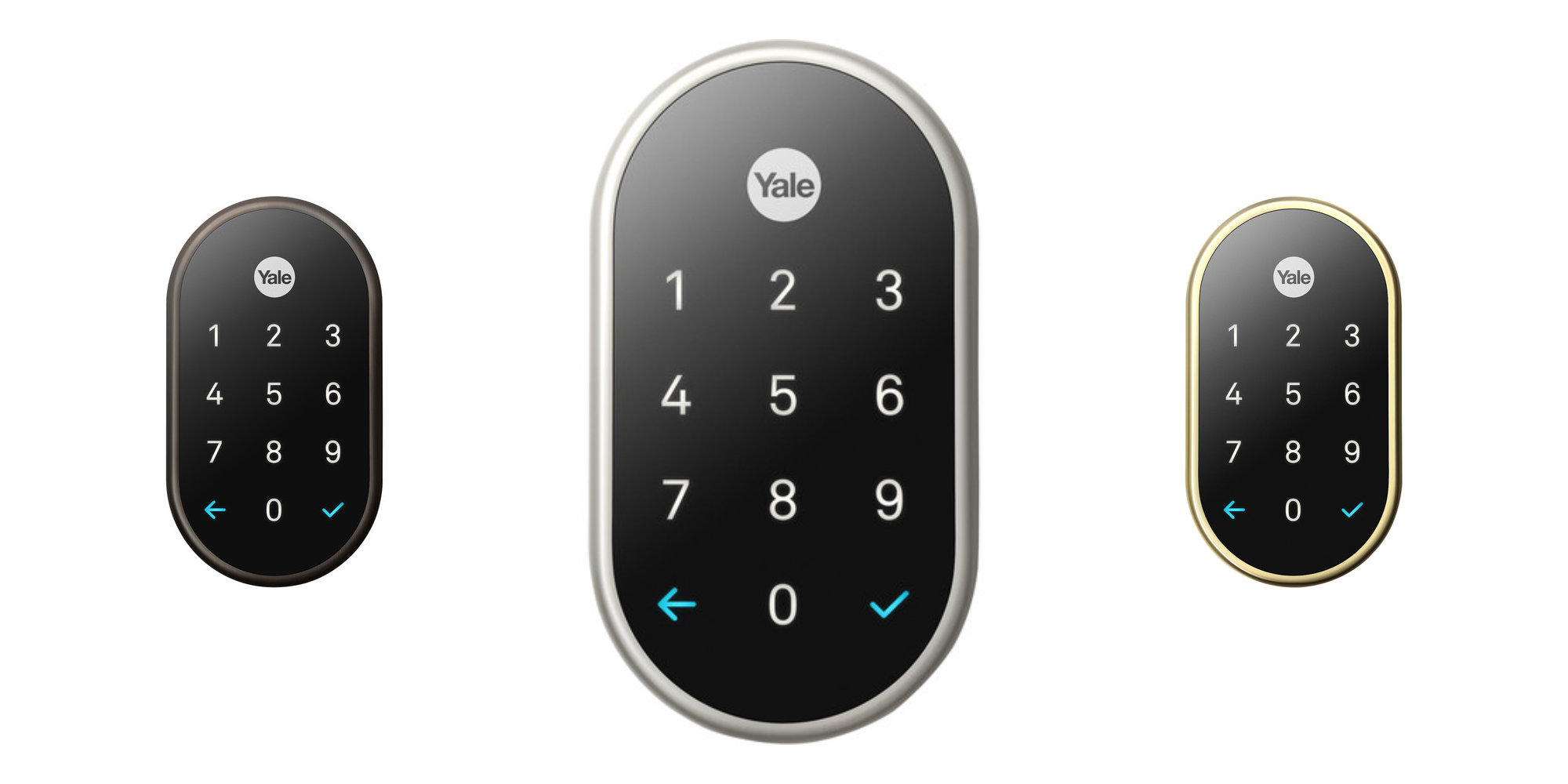 Pick the perfect color Nest x Yale Smart Lock w/ Connect for your door: $239 (save $40)