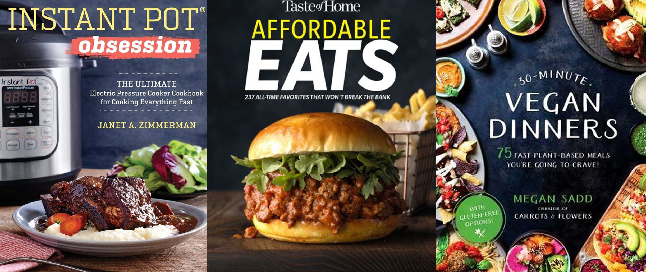 Whip up new recipes w/ these just-released cookbooks: Instant Pot meals, more