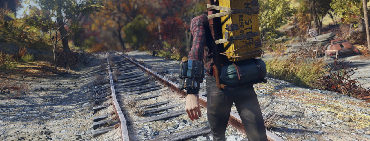 New Fallout 76 features include customizable backpack