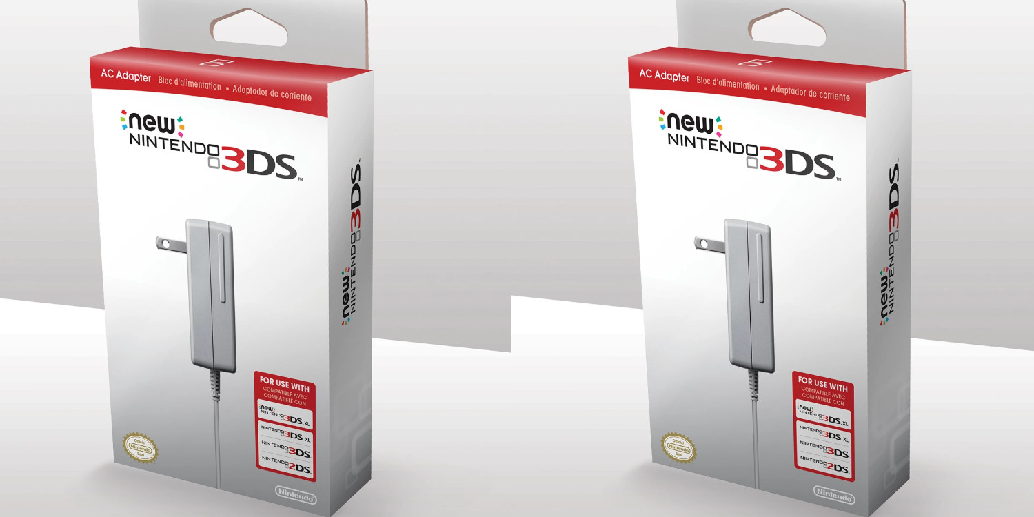 Here's a rare deal on the official Nintendo 3DS/XL/2DS AC Adapter at $7 shipped