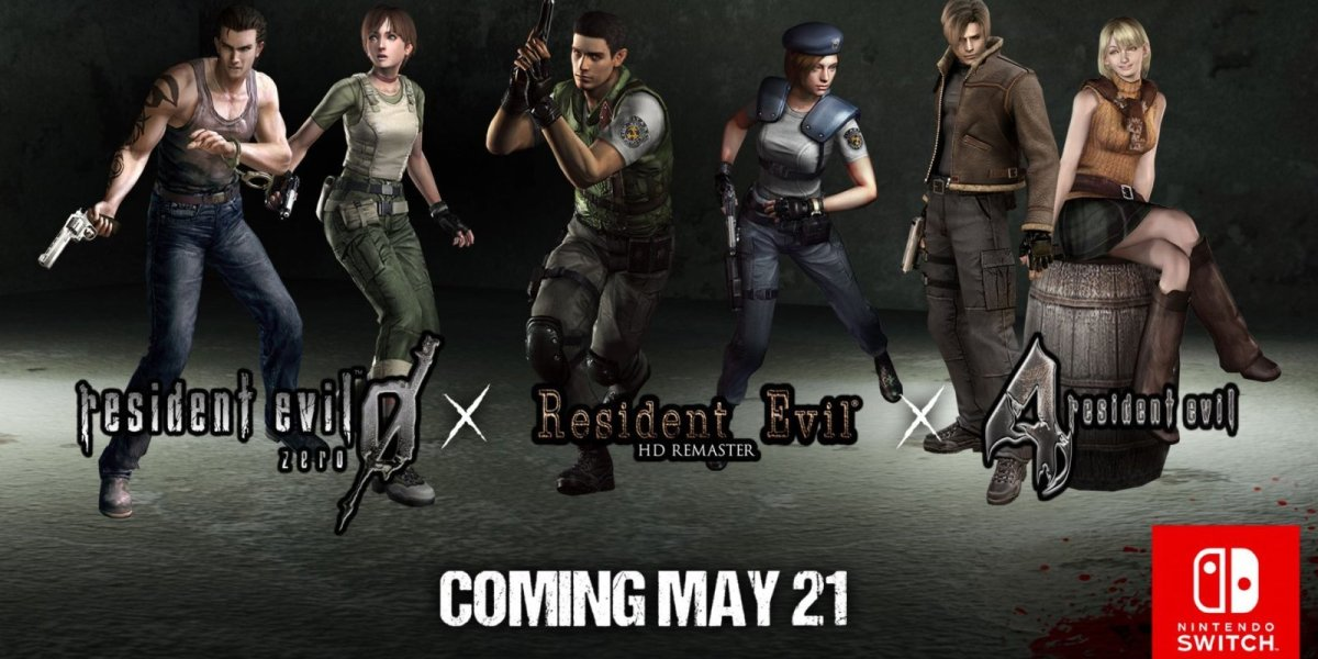 Nintendo Switch Resident Evil games coming in May