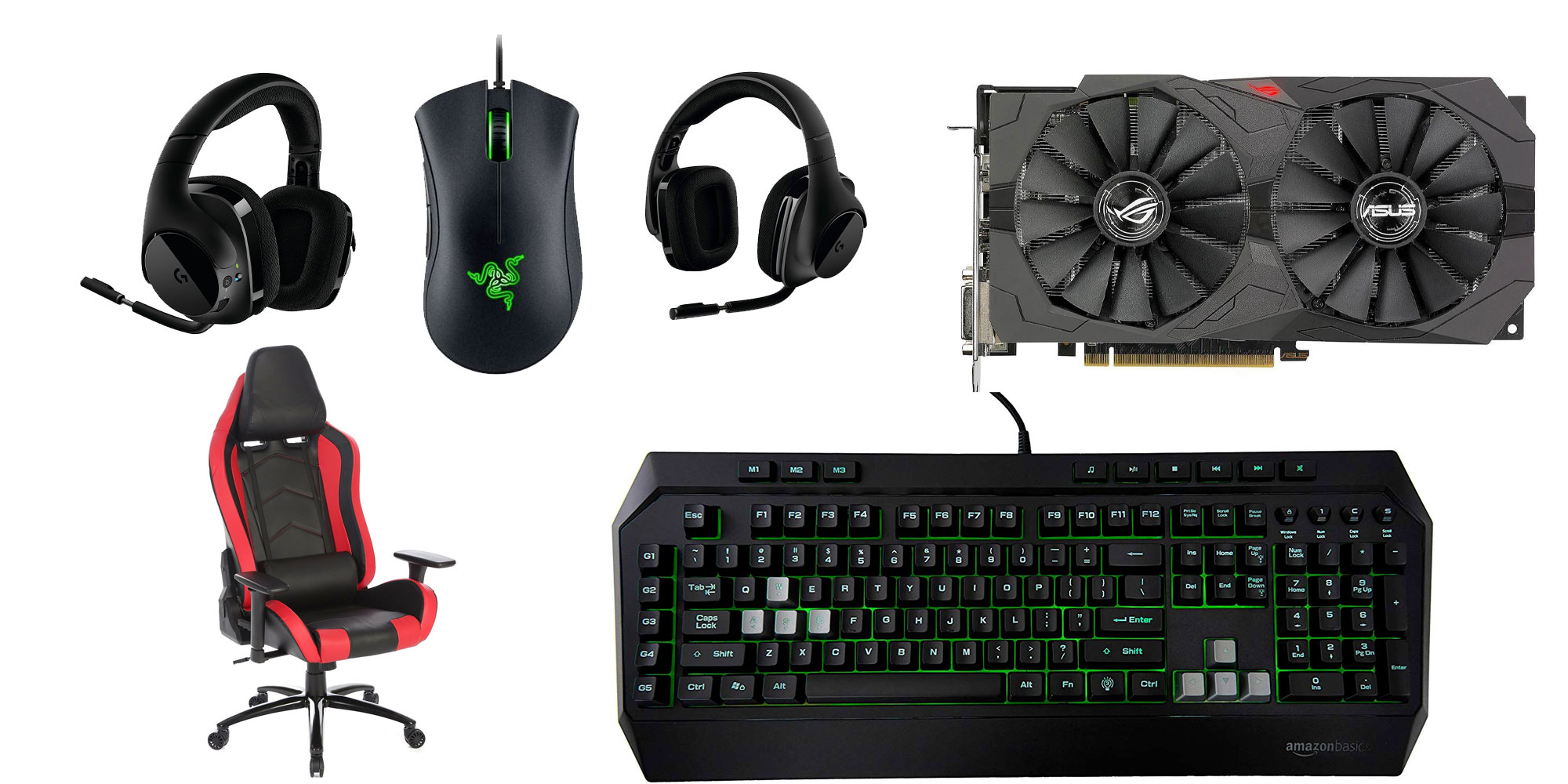 PC Gaming Deals from $16: Logitech wireless headset, ergonomic chair, RX 570 GPU, more