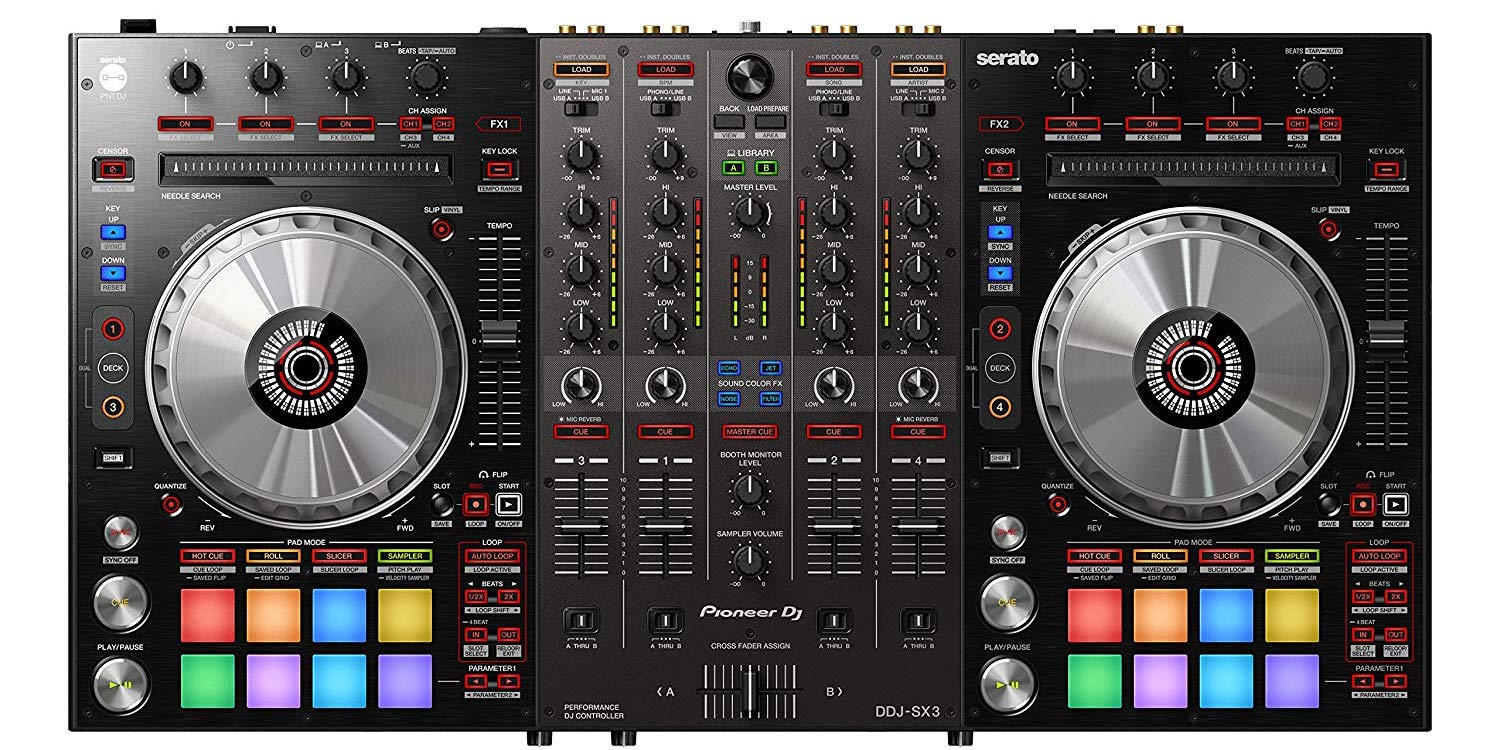Pioneer S Ddj Sx3 Dj Controller With Serato Support Is