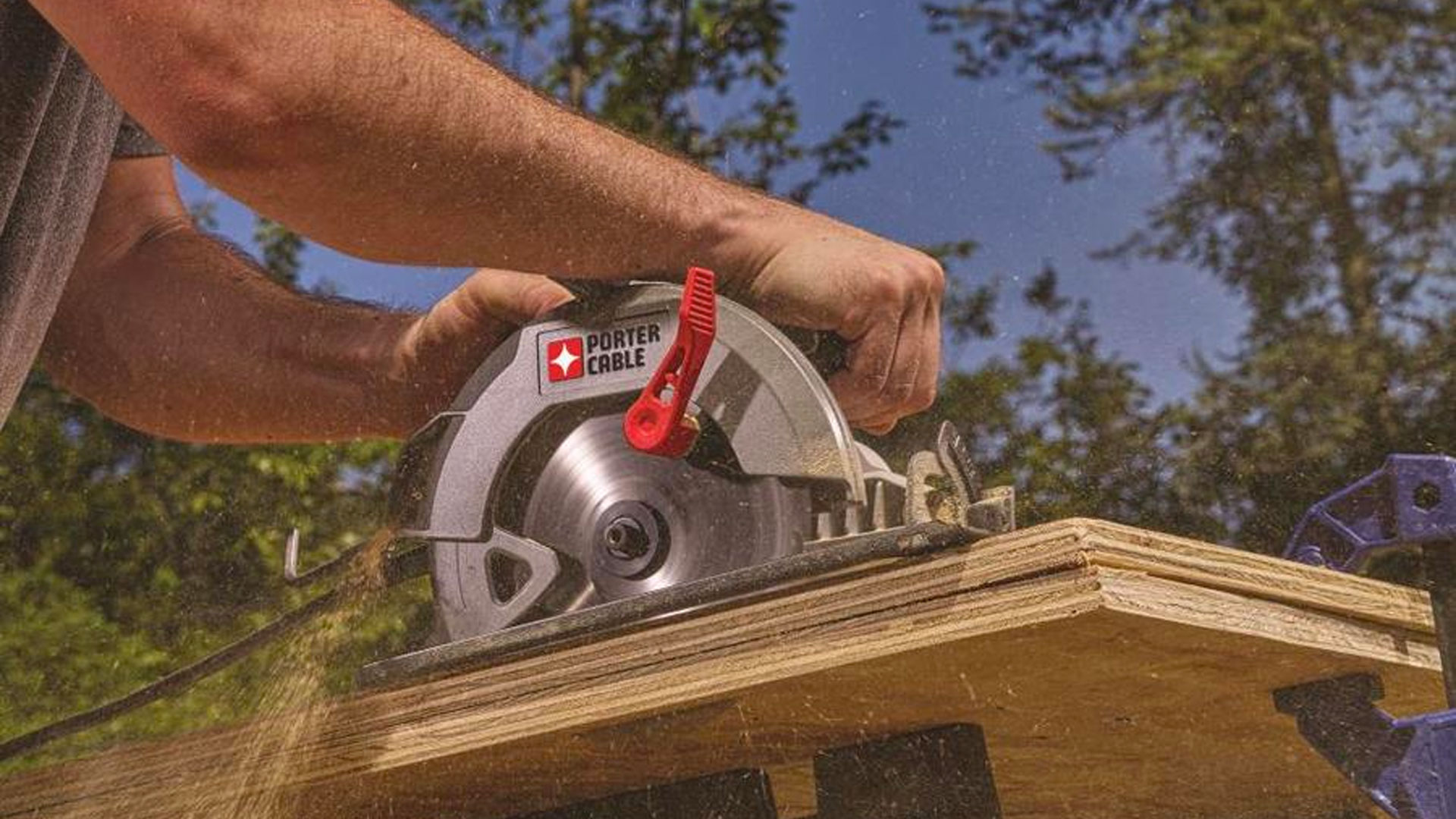 Be ready for weekend projects w/ PORTER-CABLE's 15A circular saw: $30 (Reg. $50)