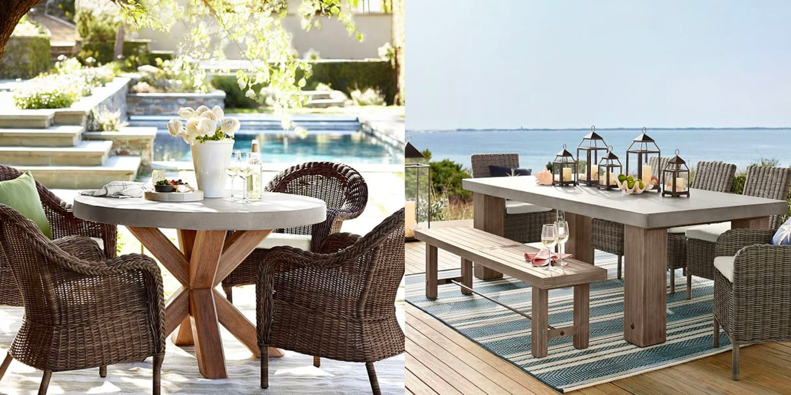 Pottery Barn S New Outdoor Collection Has Us Craving Warm Weather With Prices From 29