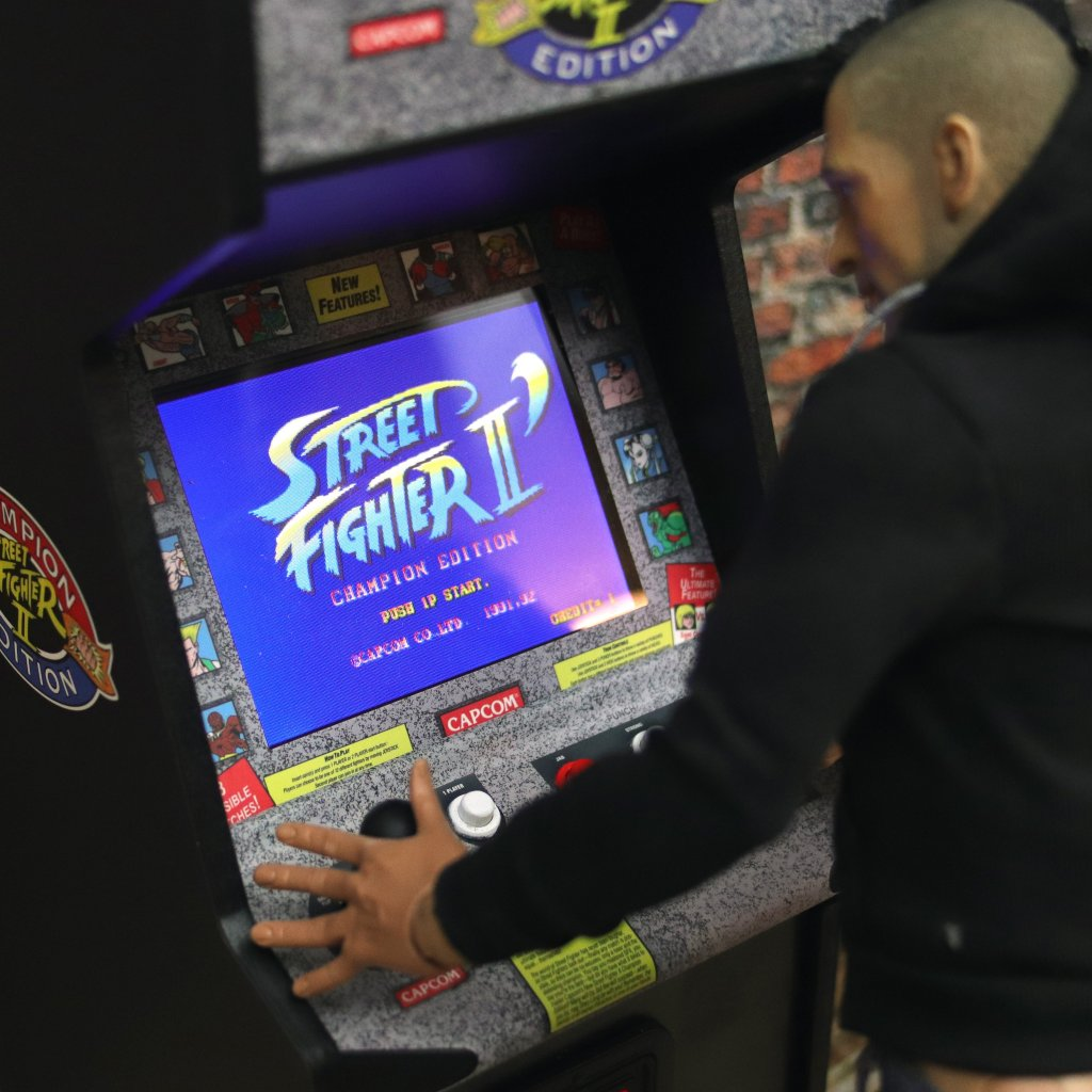 Street Fighter II Champion Edition Replicade