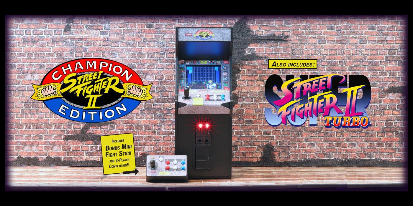 Pre-order the Street Fighter II Champion Edition Replicade