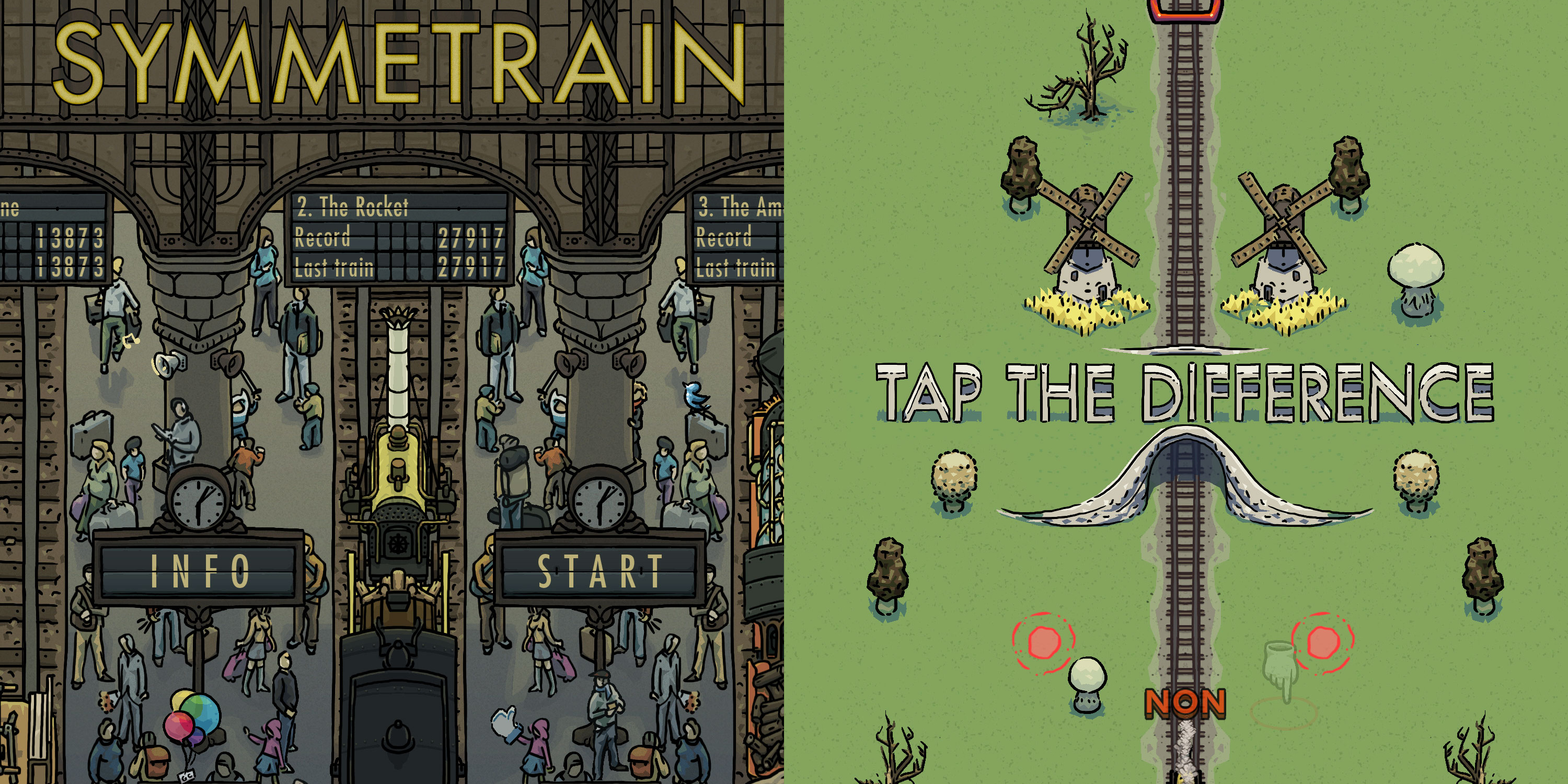 The dynamically generated Symmetrain iOS puzzler is now FREE on the App Store (Reg. $1)