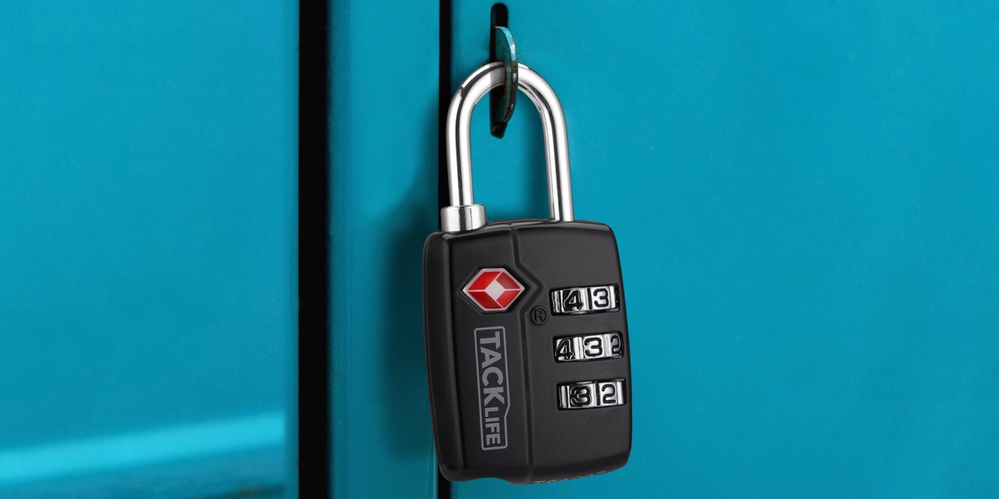 Secure a locker, suitcase, and more w/ two 3-Digit Combination Locks for $6.50 (55% off)