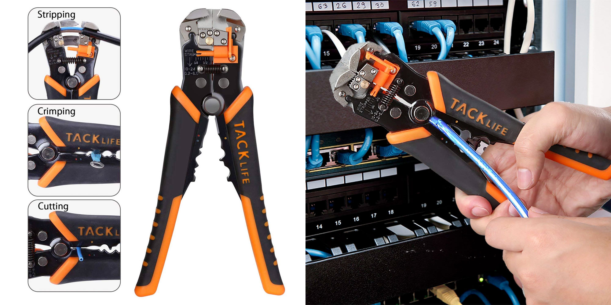 Strip, cut, and crimp your own Ethernet cables & more w/ this all-in-one tool for just $9