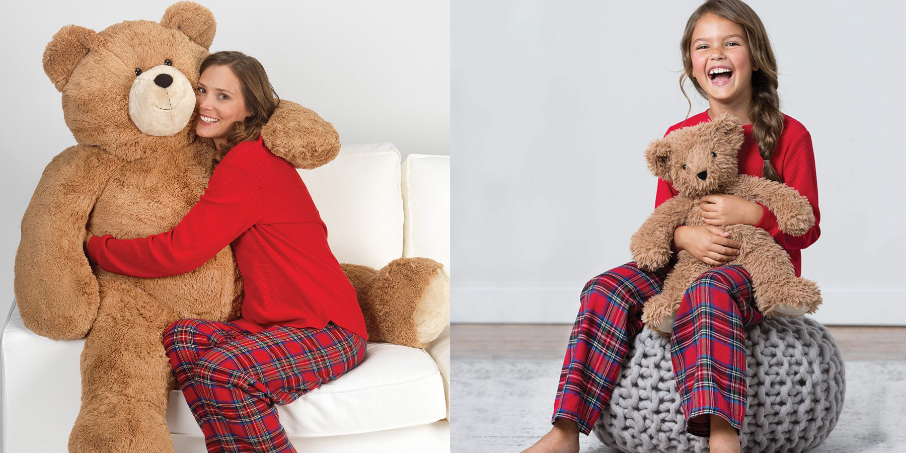 Amazon 1-day Teddy Bear Valentine's Day Sale from $22.50 w/ options up to 4-feet tall