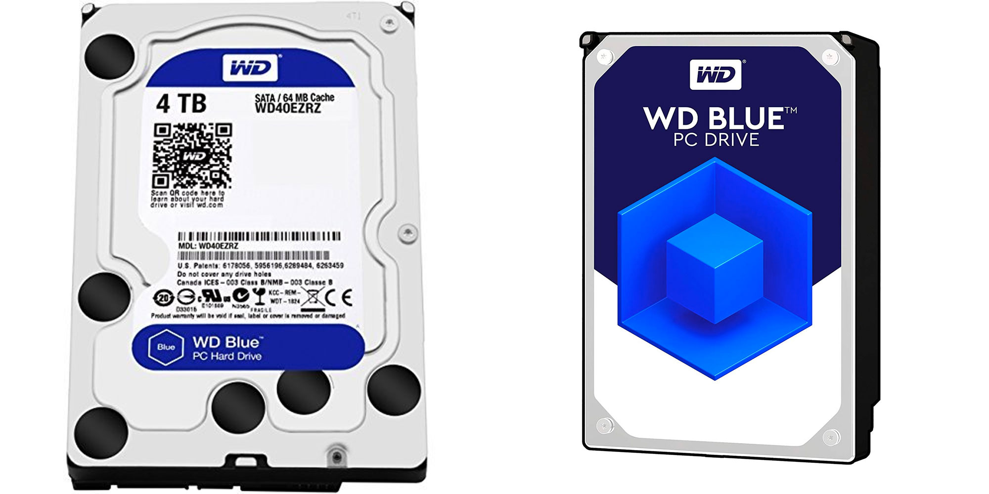 WD's 4TB Blue HDD is perfect for mass storage of movies