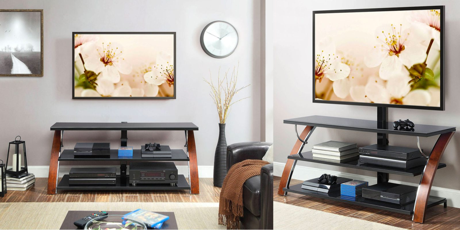 Organize Your Entertainment Center W A 3 In 1 Tv Stand For 99