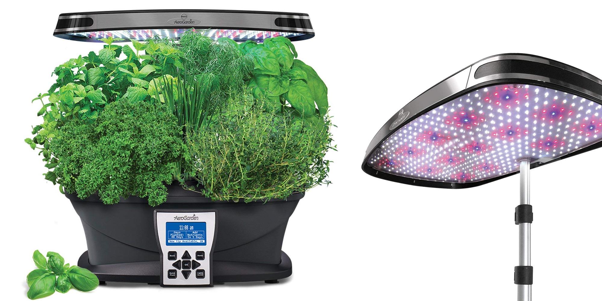 AeroGarden Ultra grows up to seven herbs or spices at $120 Prime shipped (Reg. $190)