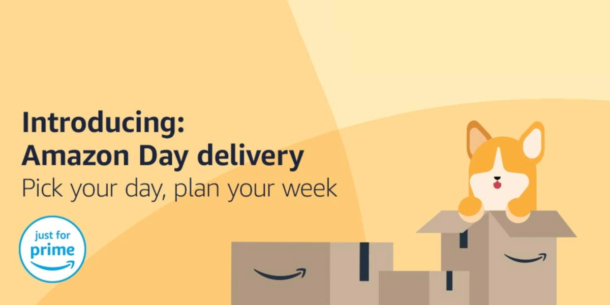 Amazon Day delivery announcement