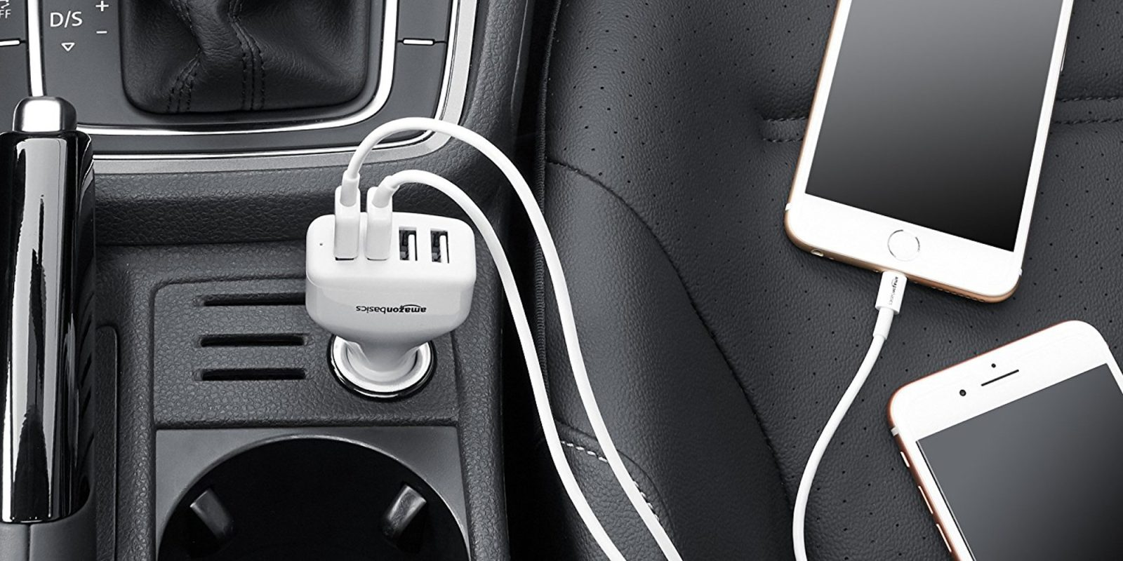 Miraculous Smartphone Accessories Amazonbasics 48W Four Port Usb Car Charger Wiring Cloud Toolfoxcilixyz
