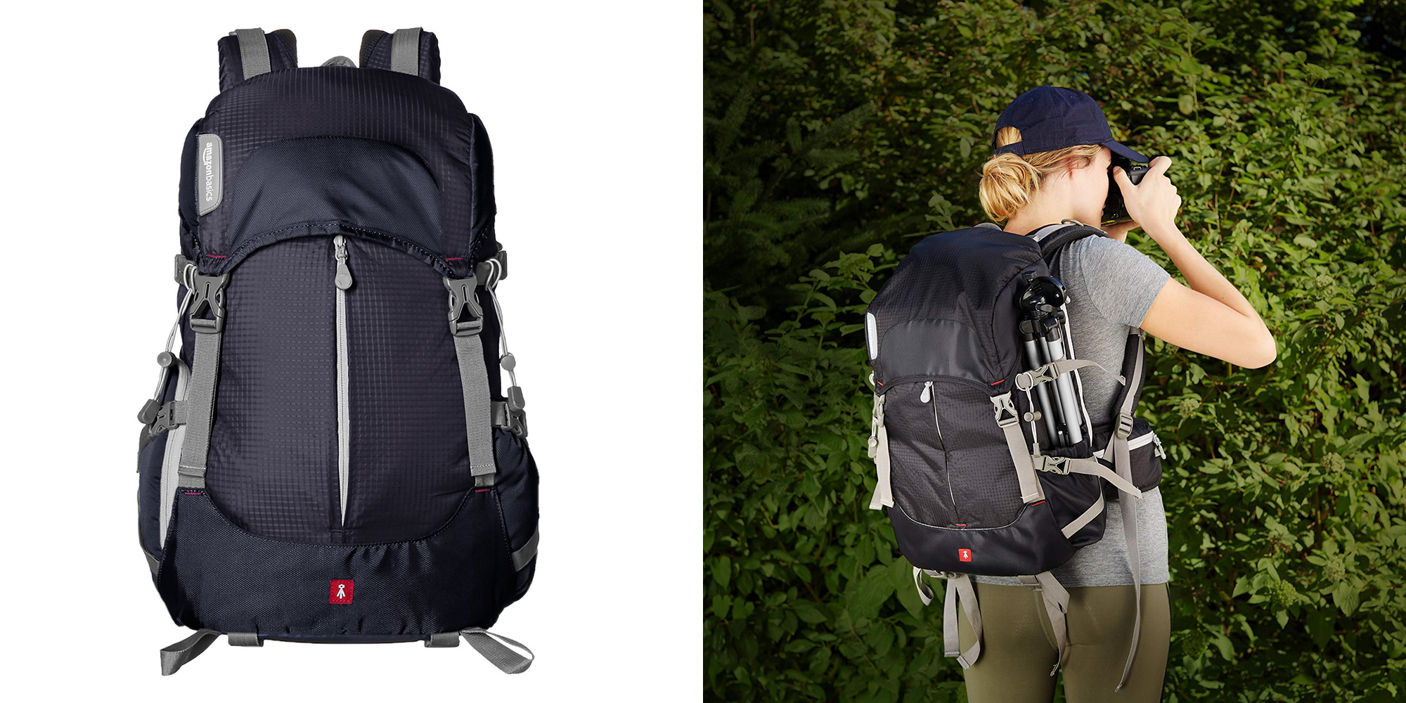 AmazonBasics' Hiker Backpack fits your 13-inch MacBook, a DSLR and more at $26 (Reg. $50)
