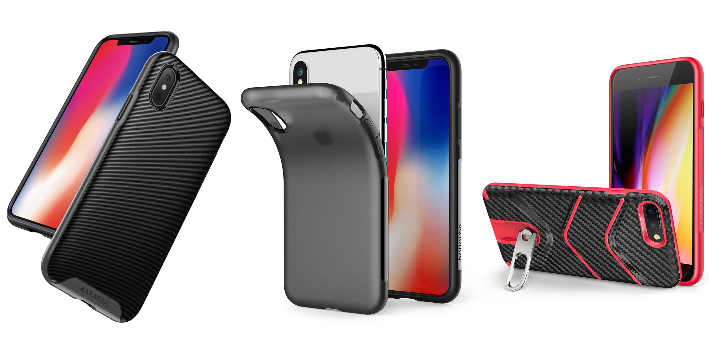 Anker iPhone X and 7/8/Plus cases for $4 in a variety of styles ...