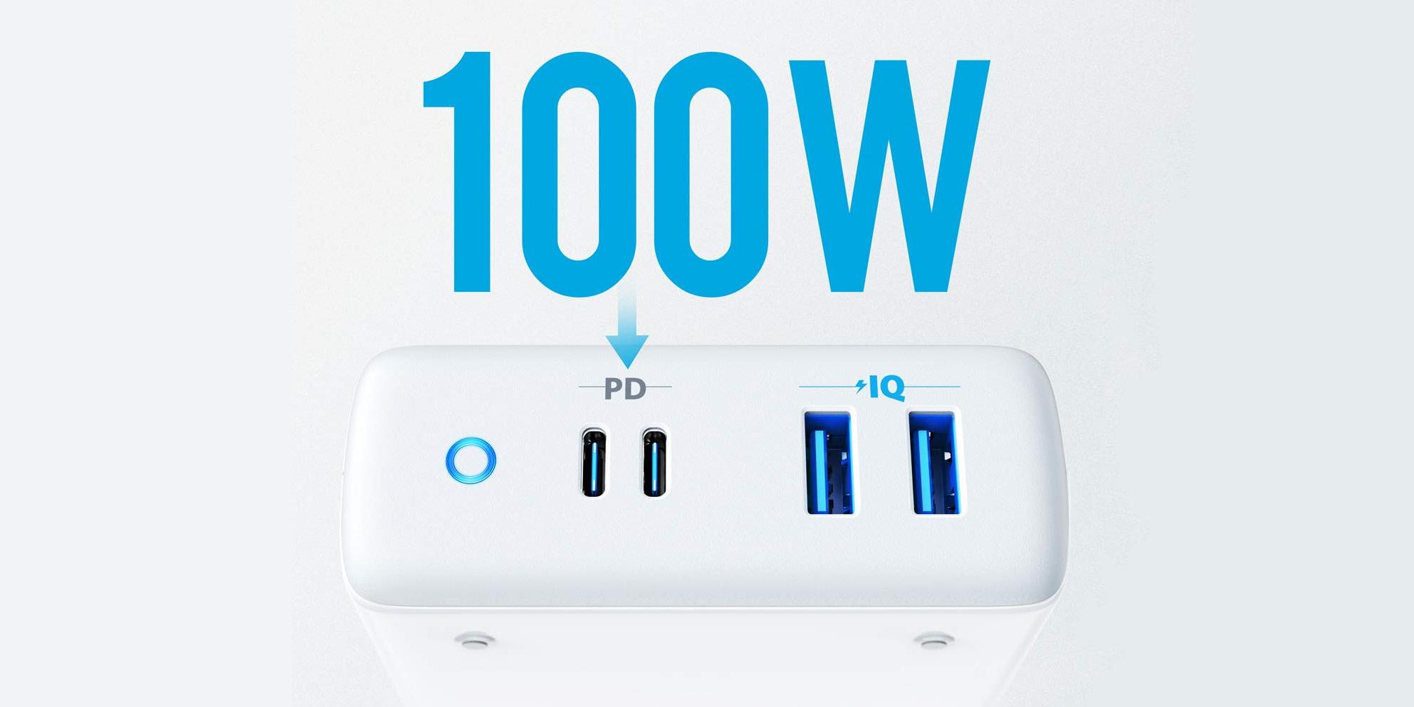 Anker PowerPort Atom offers 100w charging speeds