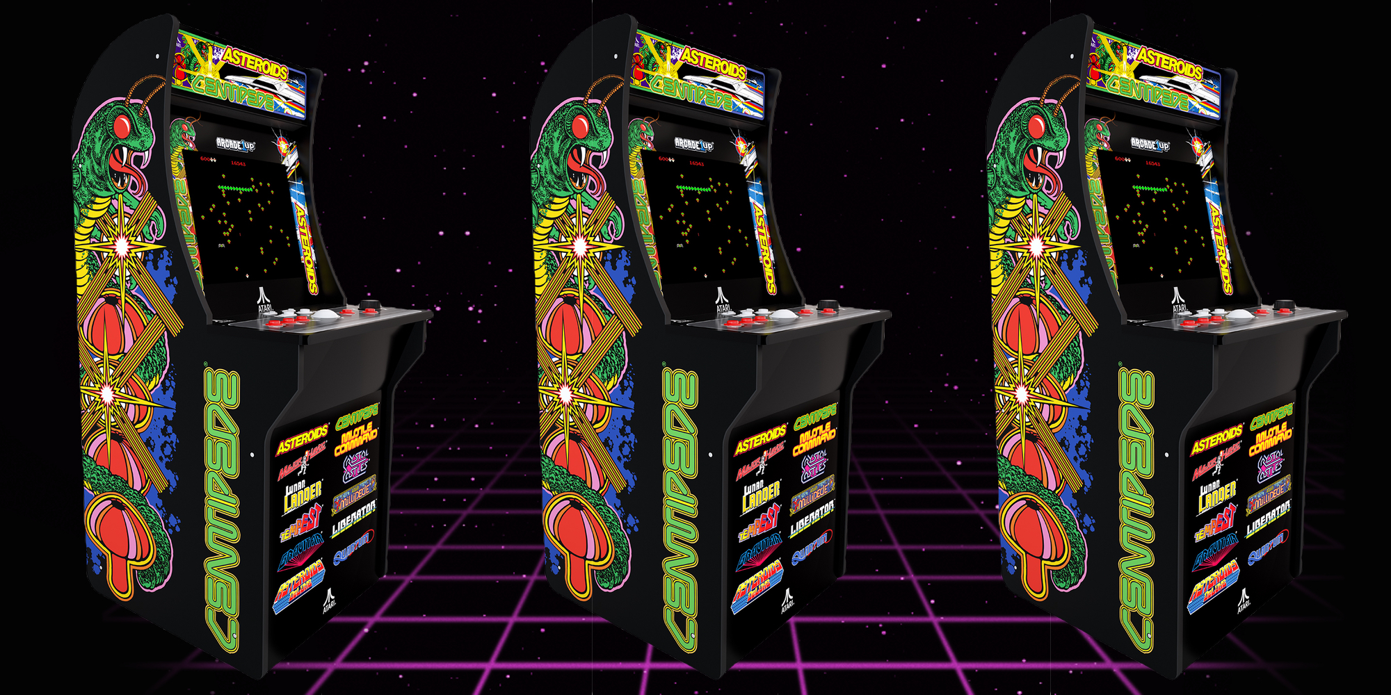 Arcade1Up's Deluxe Cabinet brings 12 retro classics to your game room for $280 (Reg. $400)