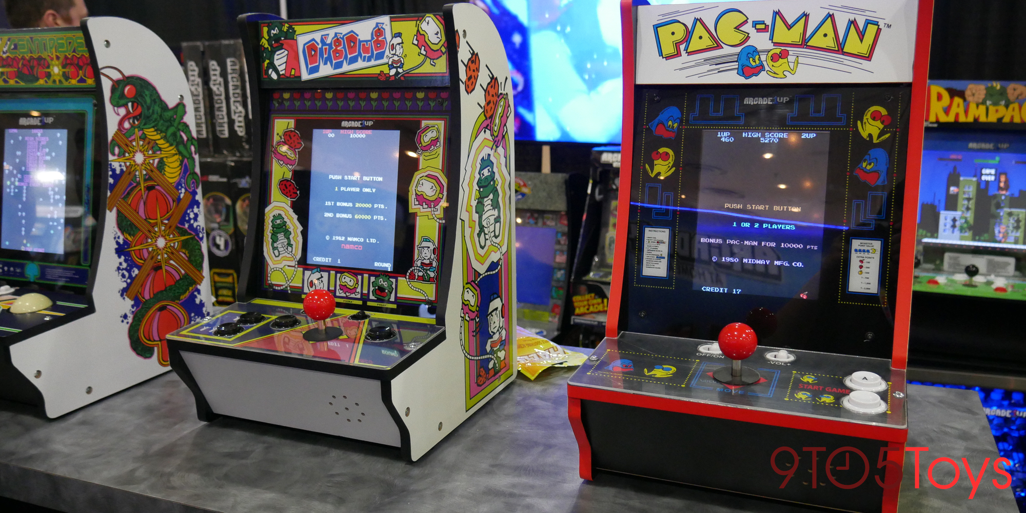 Arcade1Up Toy Fair unveils new cabinets, merch and more