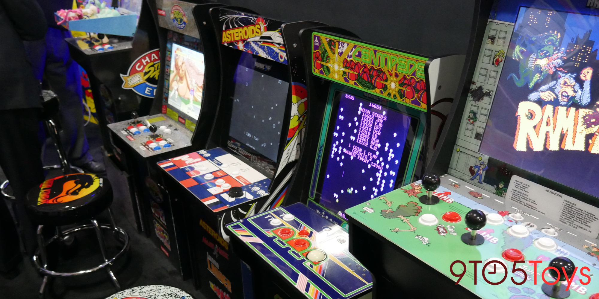 Arcade1Up expands line of retro gaming gear w/ new arcade cabinets, collectibles, more at Toy Fair