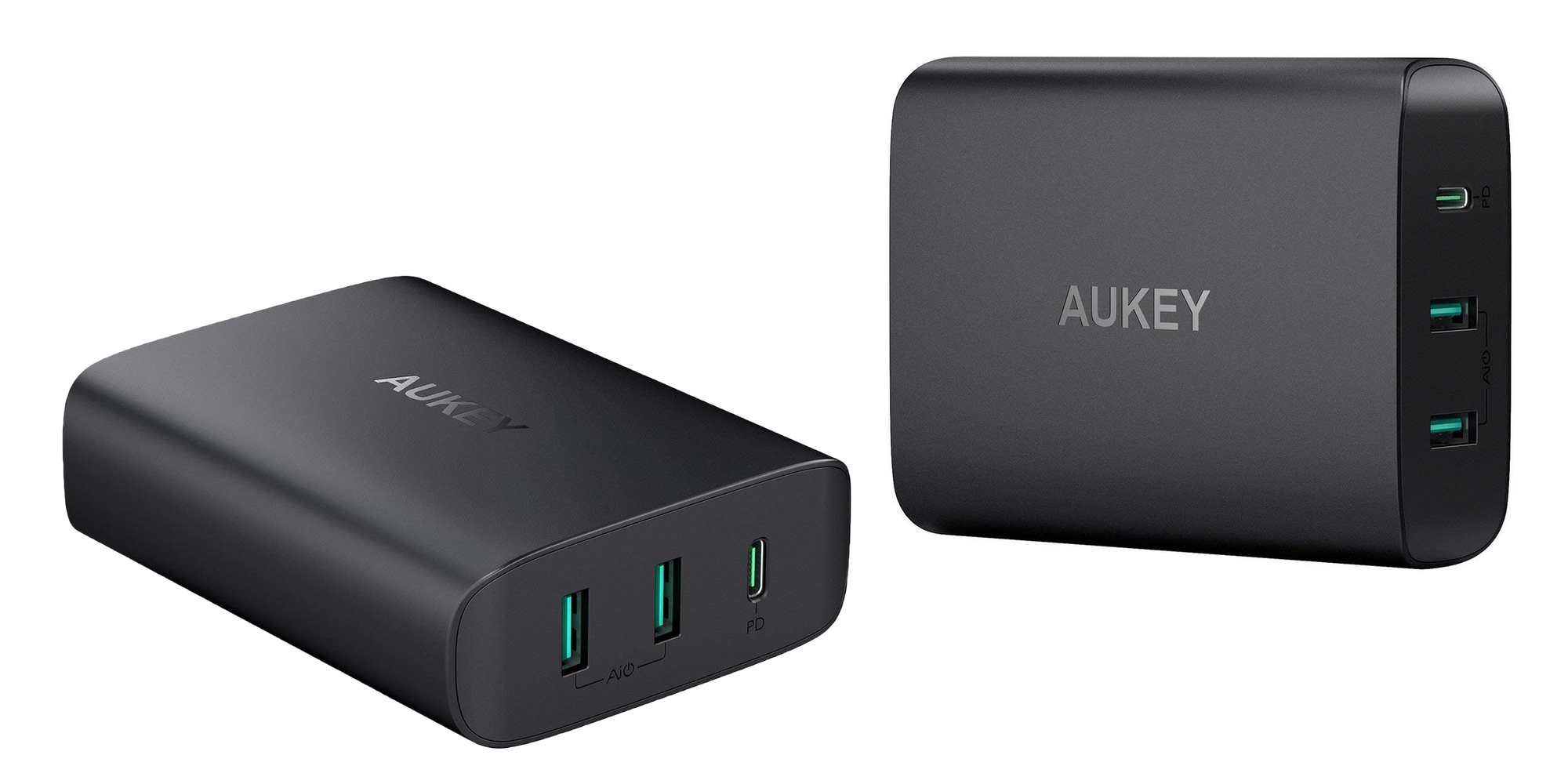 Smartphone Accessories: Aukey 60W USB-C Wall Charger w/ Dual USB ports $36, more