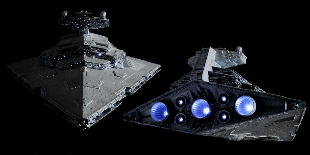 Bandai Star Destroyer Rear Engines
