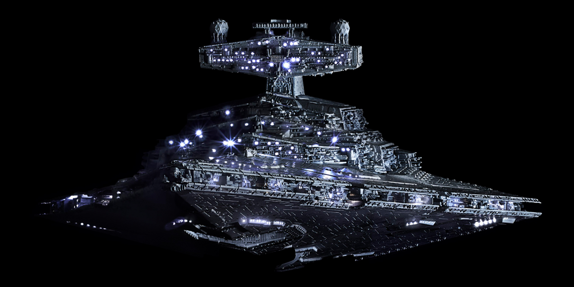 Bandai Star Destroyer LED Lighting