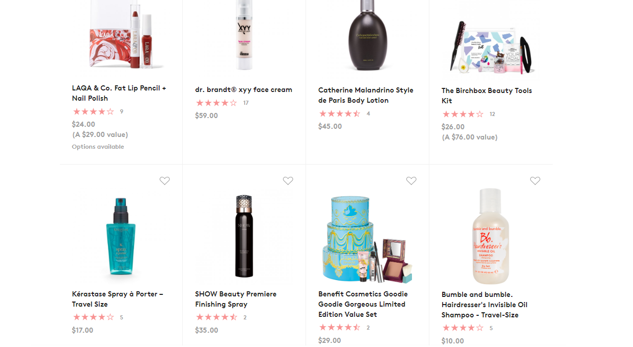 Birchbox is taking 40% off over 400 skincare, makeup and hair care items