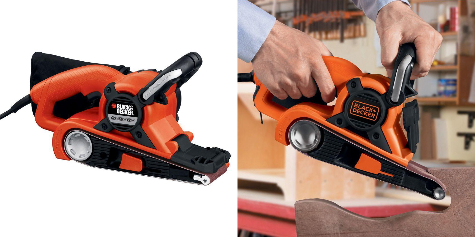 BLACK+DECKER's Dragster 21-inch Belt Sander drops to new Amazon low at $30 (Reg. $45)