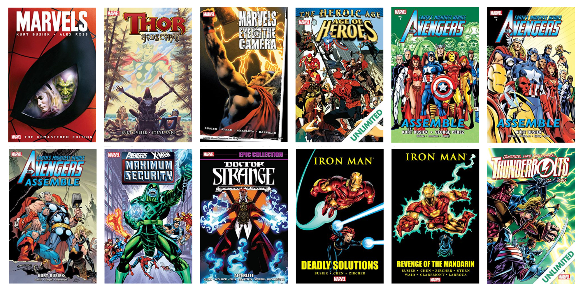ComiXology takes up to 67% off Iron Man, Doctor Stange and other Marvel comics from $1, more
