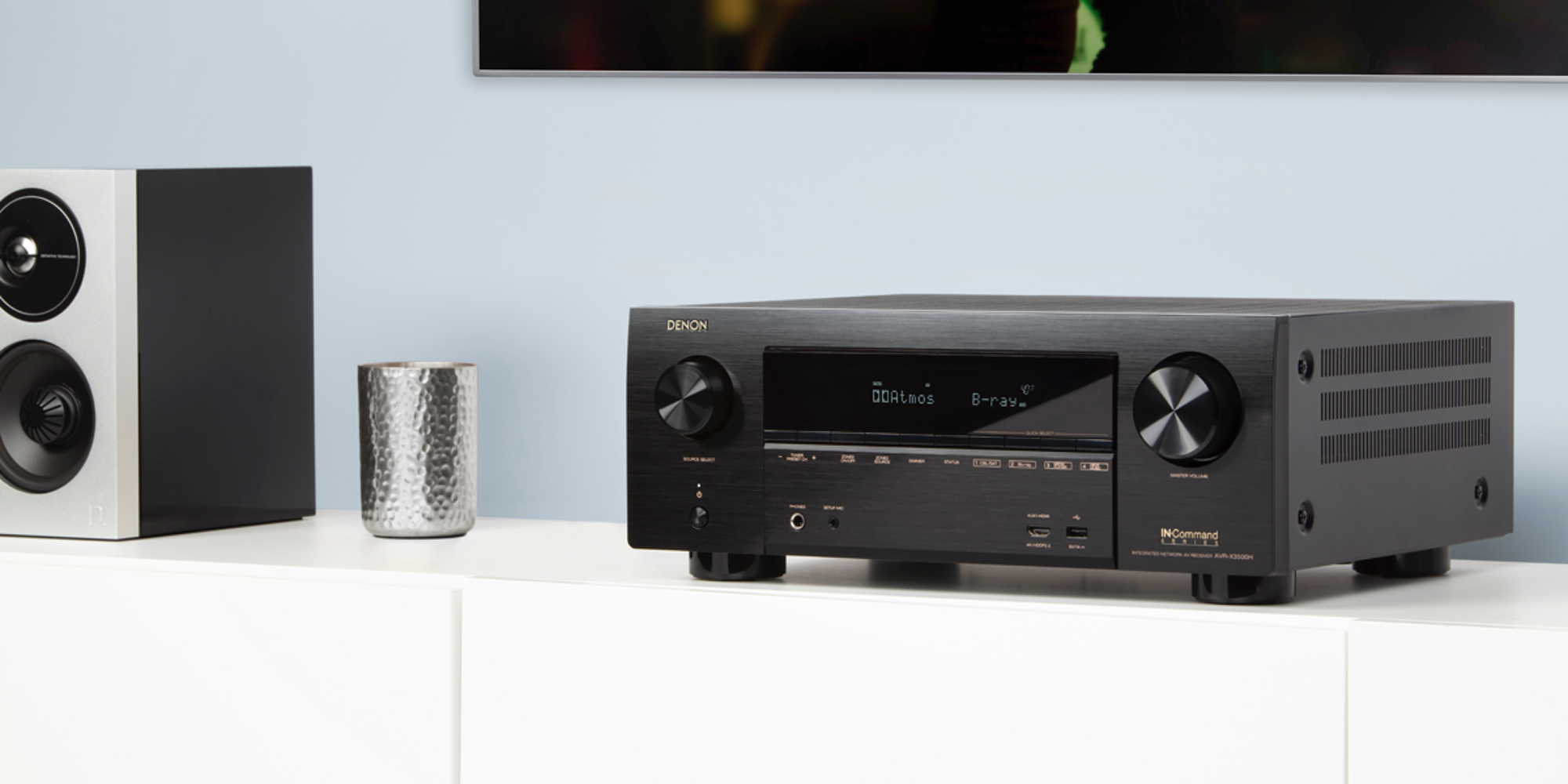 Add AirPlay 2 to your home theater with Denon's 7.2-Ch. Network A/V Receiver at $529 (Reg. $999)