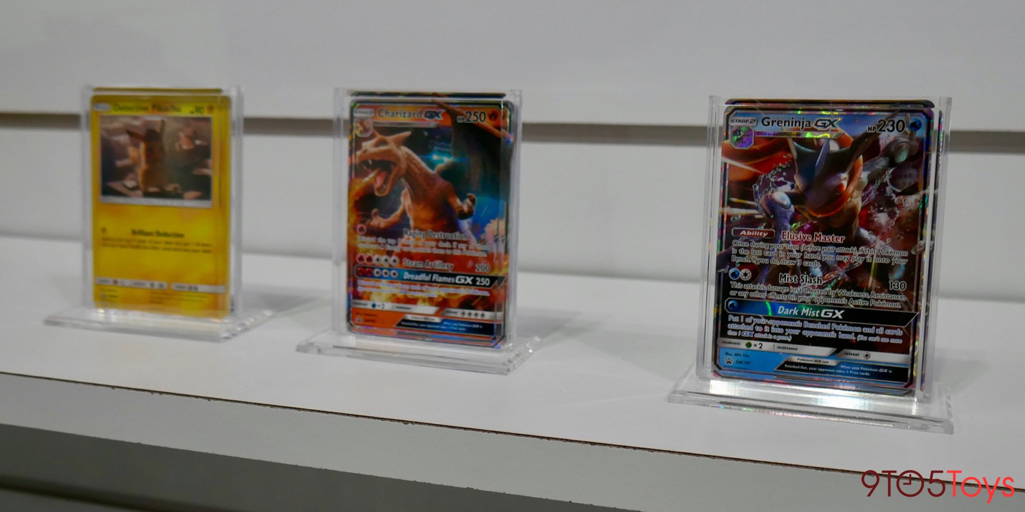 Detective Pikachu trading cards