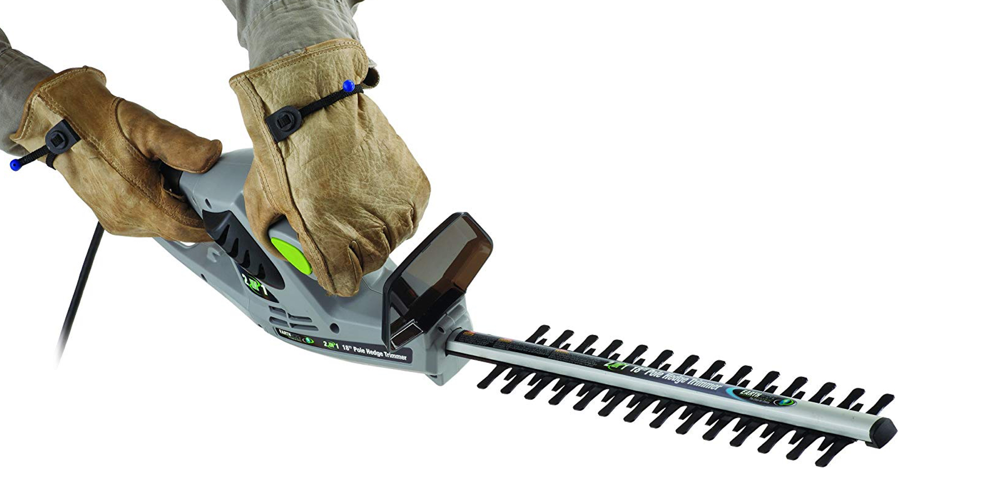 Earthwise's 18-inch Electric 2-in-1 Electric Hedge Trimmer hits new Amazon low at $28.50 (35% off)