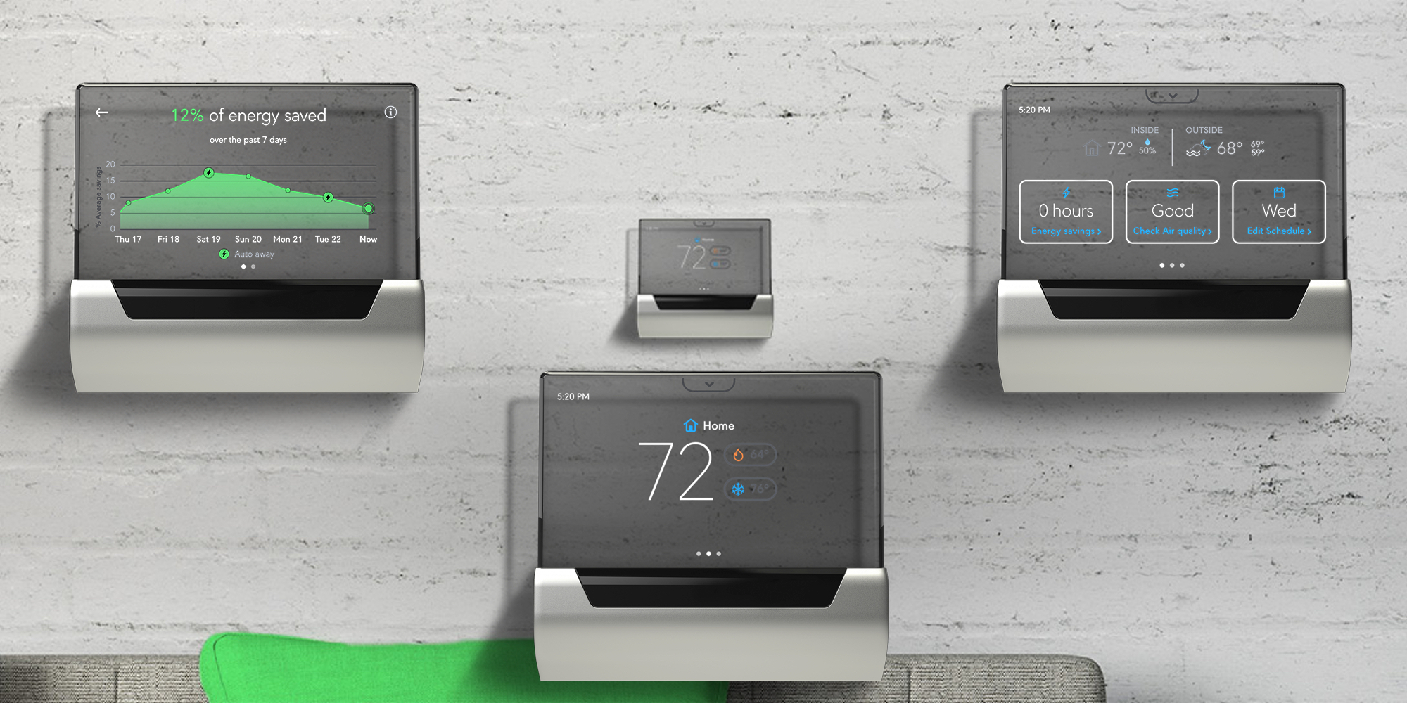 The $248 GLAS Alexa-enabled Thermostat sports a transparent display, hits new Amazon low ($70 off)