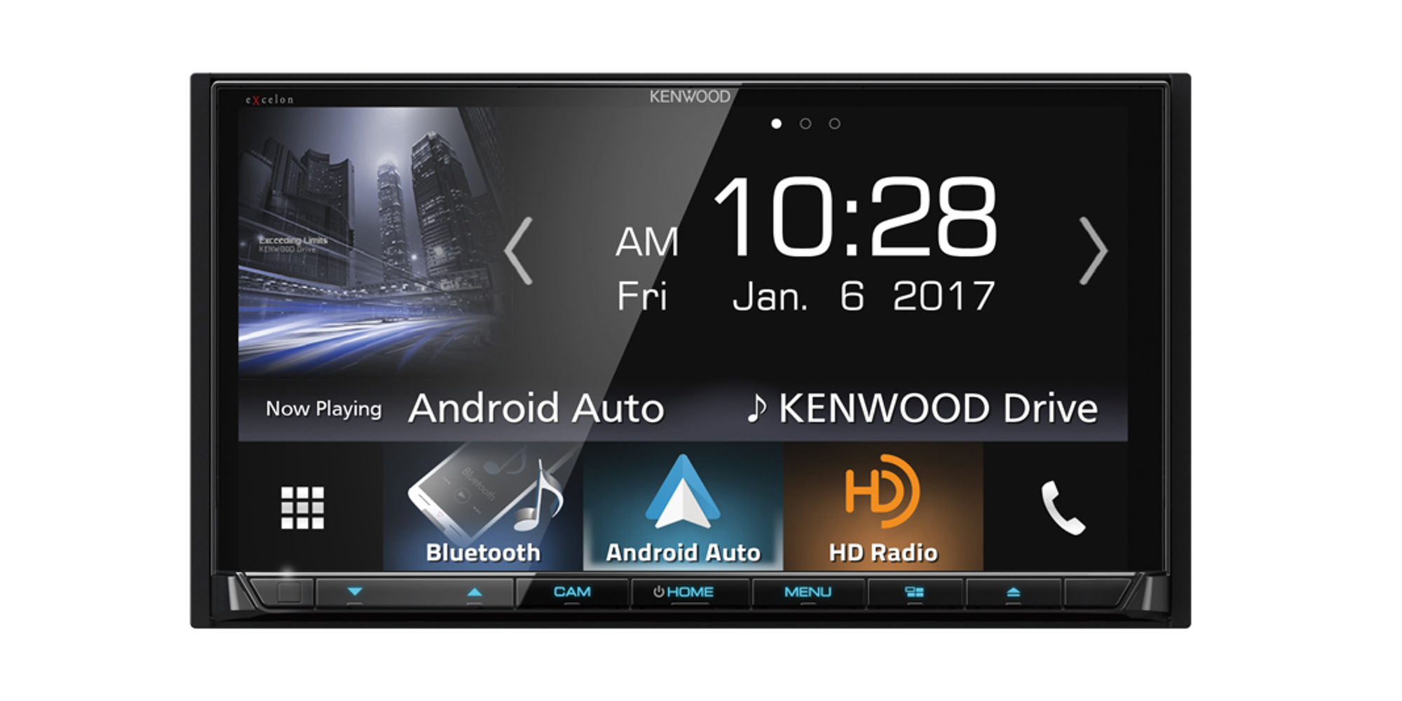 Kenwood's 7-inch In-Dash Receiver brings CarPlay + Android Auto to your ride for $374 (Reg. $450)