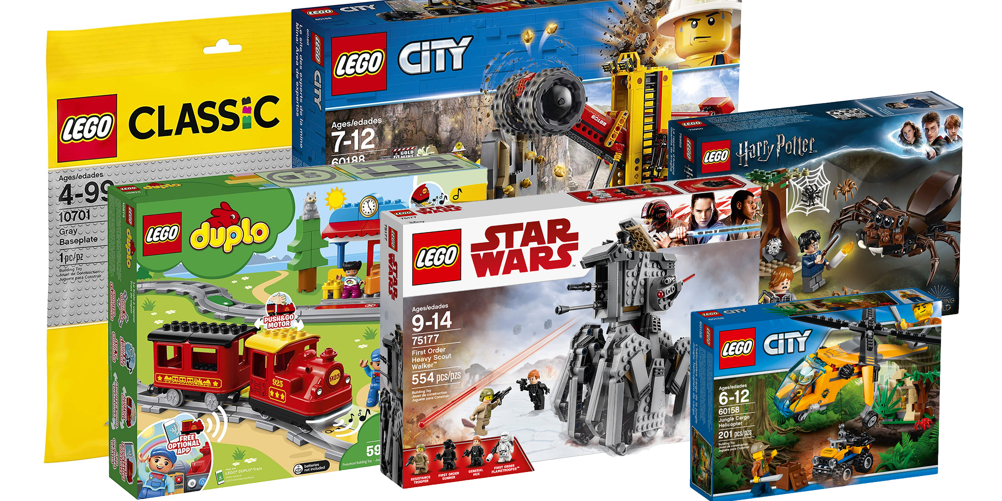 Assemble LEGO City, Harry Potter, Star Wars sets and more at up to 33% off with deals from $10