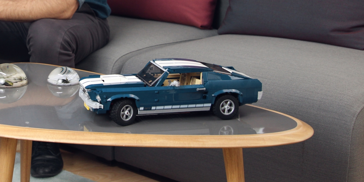 LEGO Ford Mustang Lifestyle