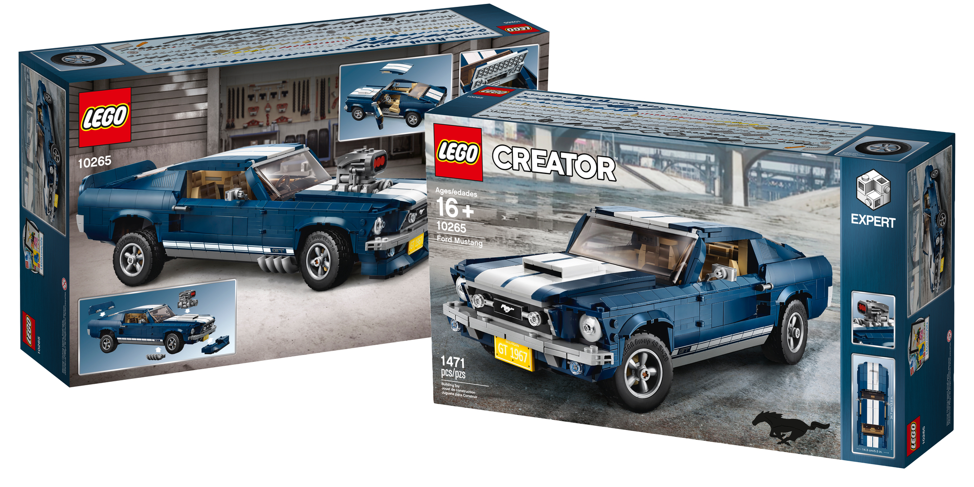 LEGO Ford Mustang Box Art