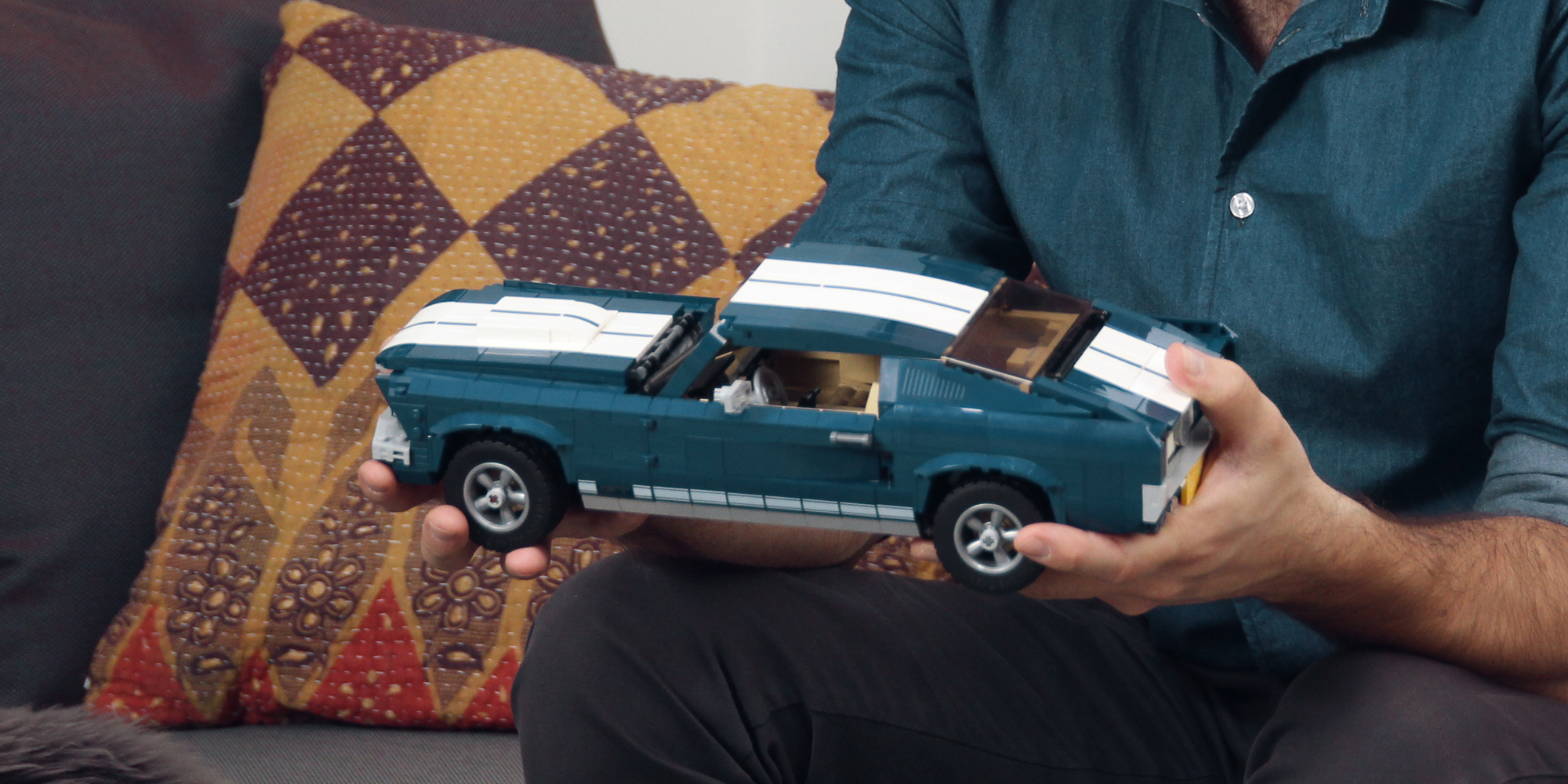 Lego Ford Mustang Recreates A Classic Car In A 1470 Piece Set