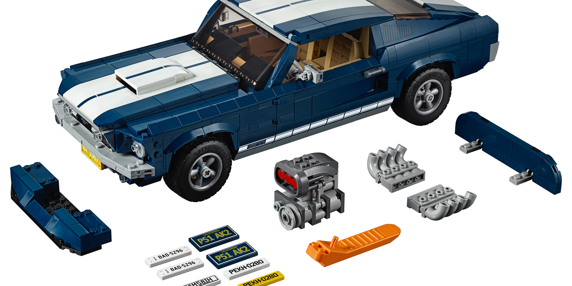 LEGO Ford Mustang Accessories